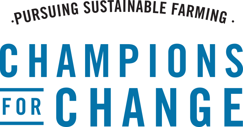 Pursuing Sustainable Farming - Champions for change